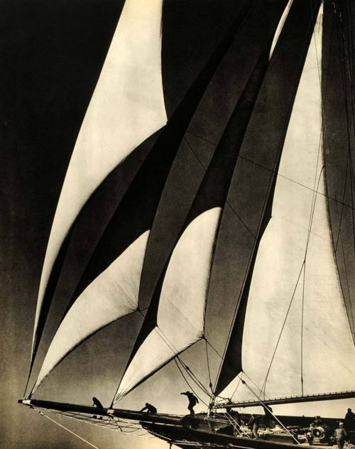 The Larchmont Yacht Club, 1939 by Morris Rosenfeld: Larchmont Yacht, 1939, Yacht Club, Black, Photography, Yachts