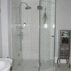 White Subway Tile Shower Subway Tile Showers And Tile