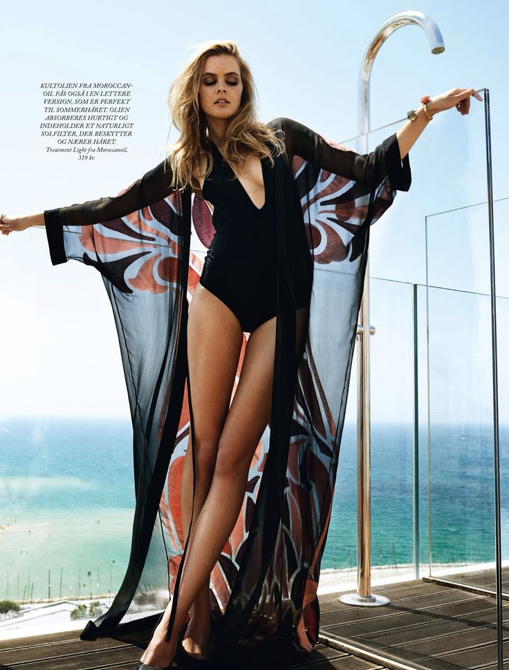 pool party: malene knudsen by jonas bie for eurowoman june 2014 | visual optimism; fashion editorials, shows, campaigns & more!