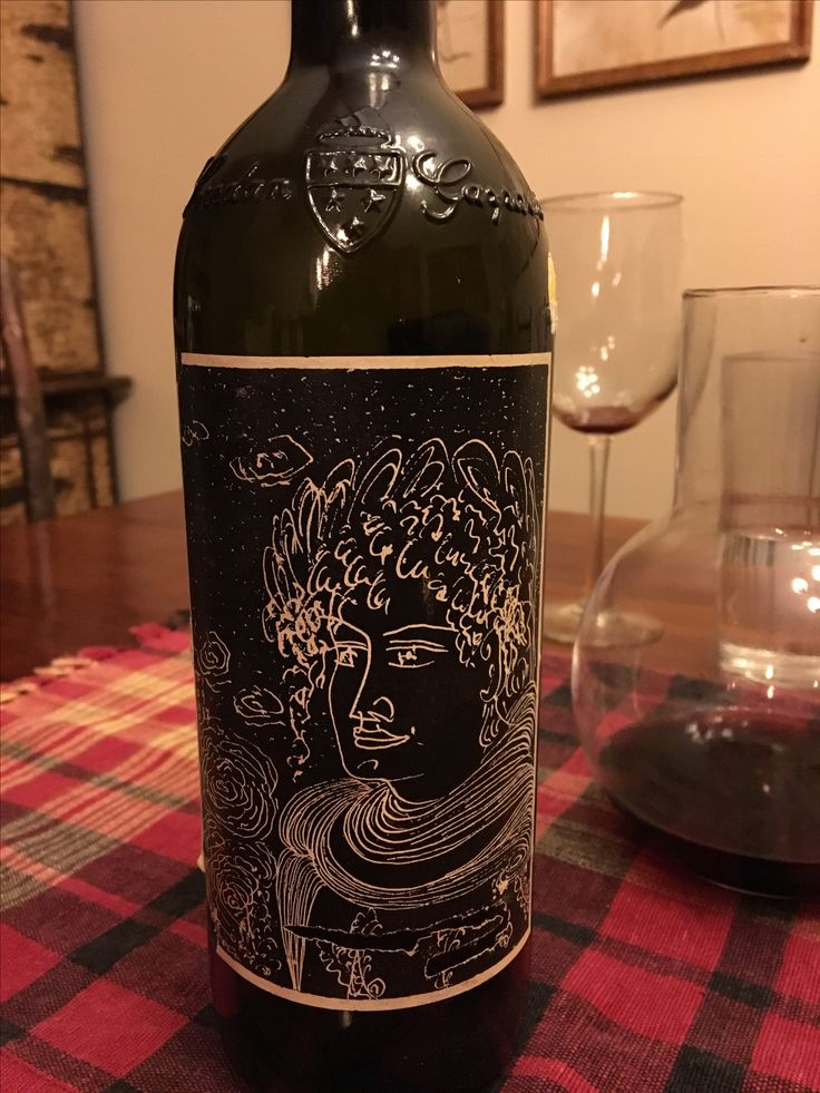 Picture of front label CAPO DI STATO 1988 by Mario Pingue from Canada