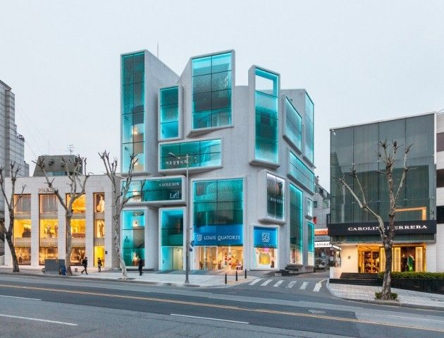 Dutch architects MVRDV have redesigned a 1980s building in the Gangnam district of Seoul, South Korea.