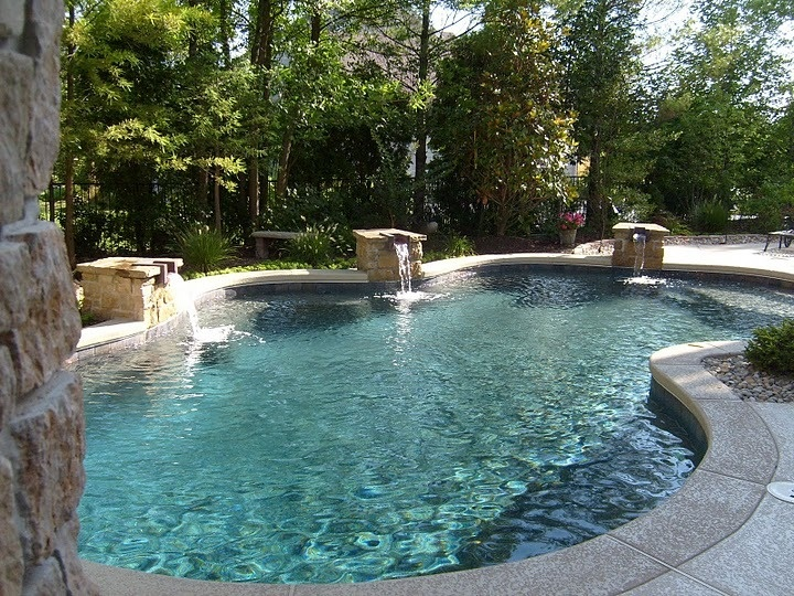 17 Best Ideas About Pool Construction On Pinterest Swimming Pool Construction Backyard Pool
