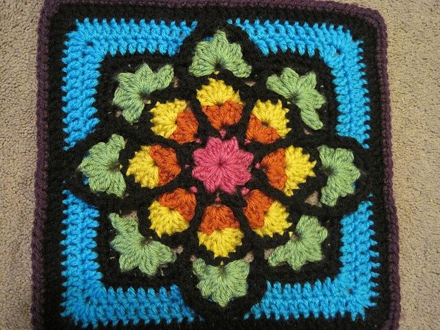 179 best images about crochet stained glass on Pinterest ...
