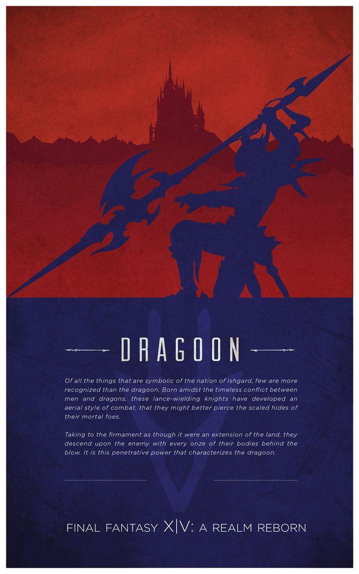 Dragoon [Final Fantasy XIV] by fredjully