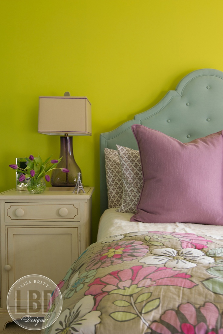 Lisa Britt Designs: Bold bedroom | Beautiful Bedrooms