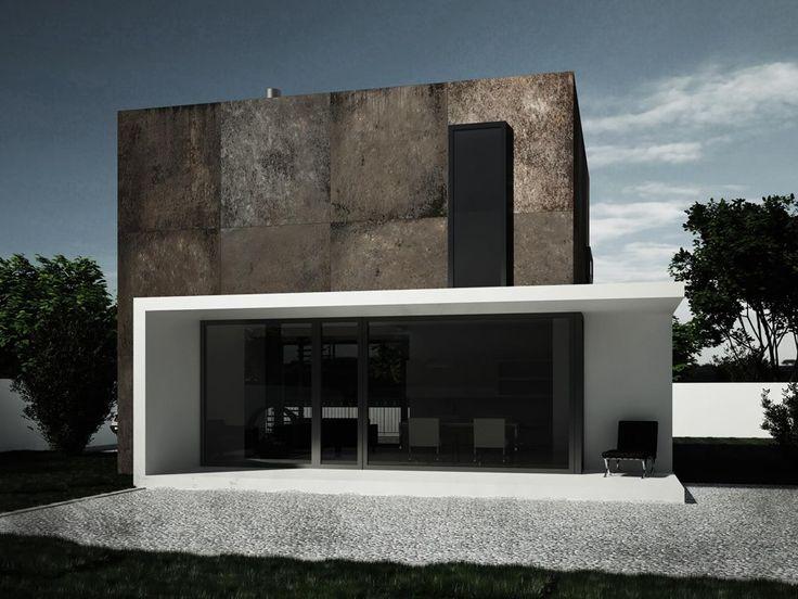 Фото — Rusty cube — Architecture