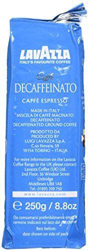 awesome Lavazza Caffè Decaffeinato (Pack of 4)
