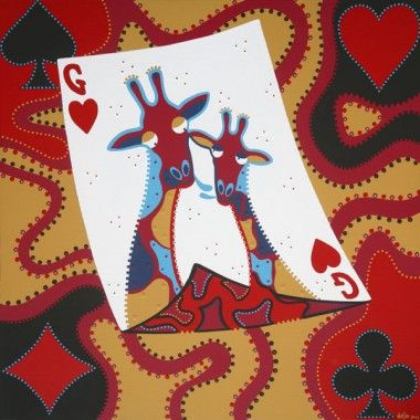 Hearts of Giraffe is Trump Card - Dejo