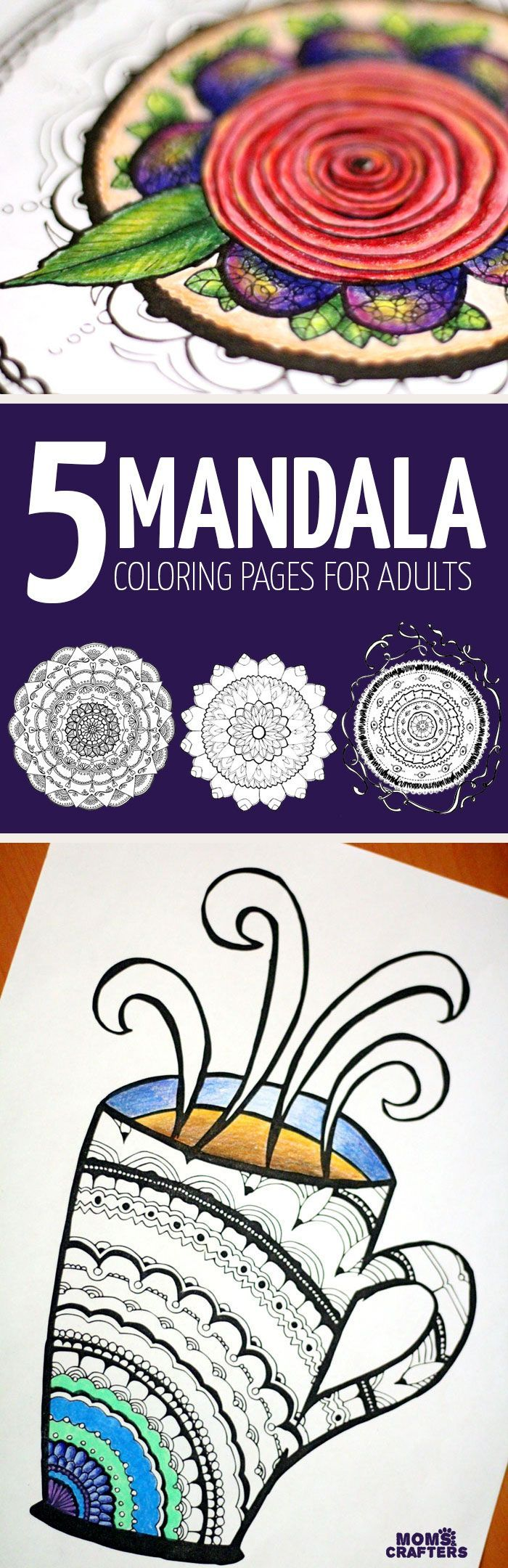 Mandala coloring pages art therapy recovery - Cool Mandala Coloring Pages For Adults