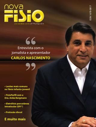 Edição 75 da Revista NovaFisio. Tudo sobre Fisioterapia.