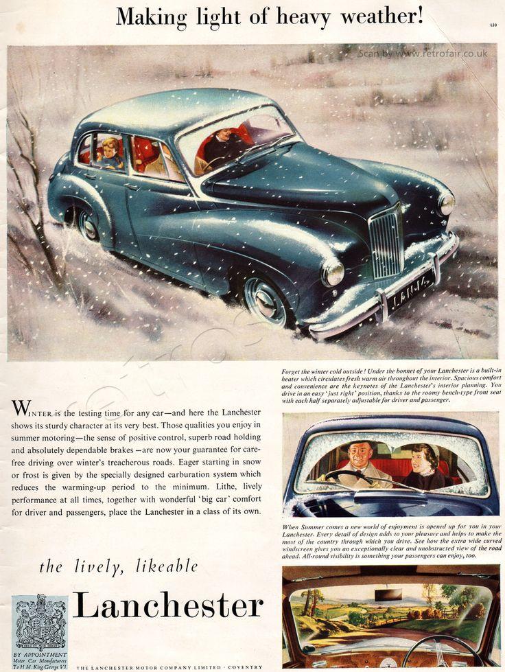 46 best Retrofair Vintage Cars and Motoring Ads images on Pinterest ...