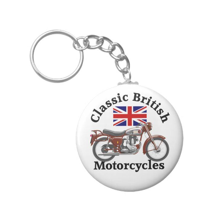 Bsa B31 Motorcycle Key Ring Tap Personalize Buy Right Now Key Ring Motorcycles Classic Vintage Custom Holiday Card Key Rings Motorcycle Gifts