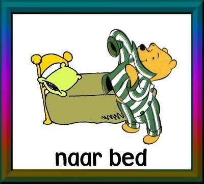 naar bed