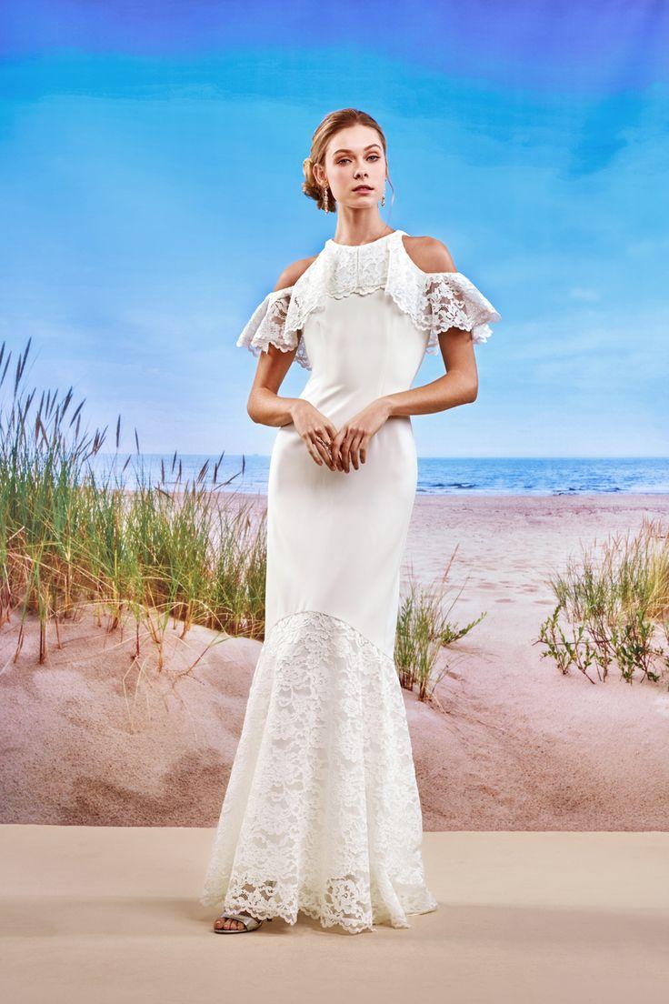 Mejores 10 imágenes de Nicole Miller Bridal Gowns available at ...