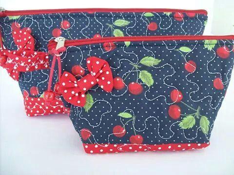 Necessaire #handmade #mariacerejaartes #necessaire #patchwork