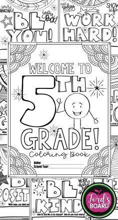5th Grade Back To School Activities