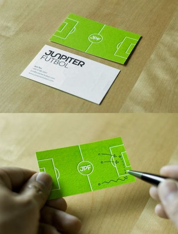 Modern Football Business Cards Pictures - Business Card Ideas ...