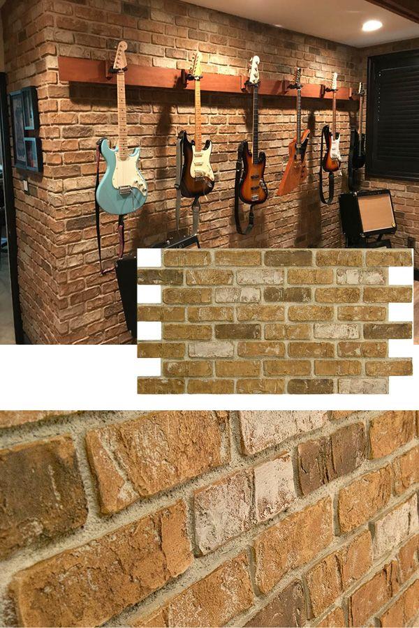 Used Brick 2x4 Ul2600 Diy Brick Wall Faux Brick Walls Brick Wall Paneling