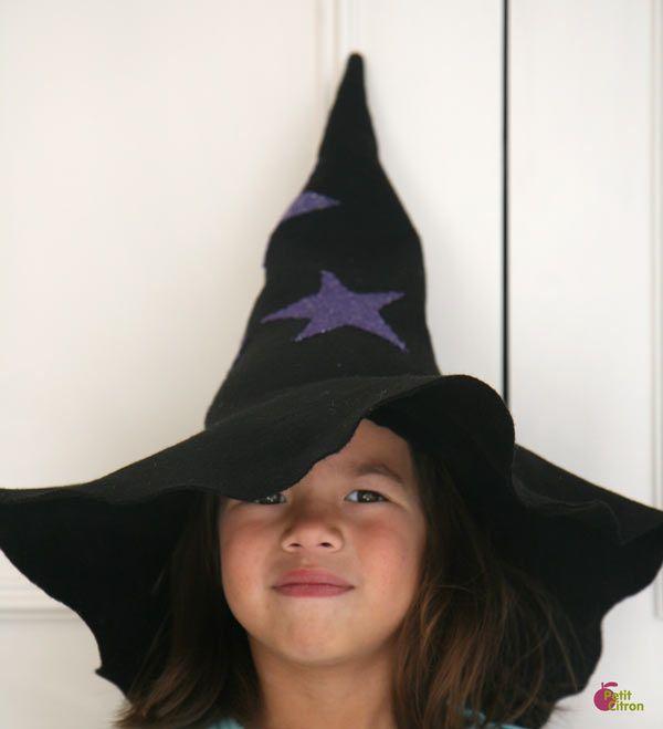 Nouveau DIY de couture : le chapeau de sorcier et de sorcière « Blog de Petit Citron