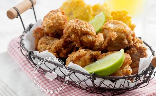 Chicharrón de Pollo Recipe (Crispy Fried Chicken Bites): Flavorful ...