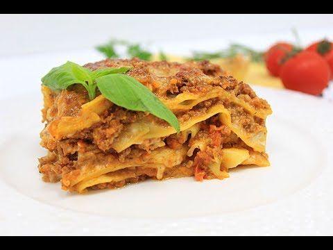 Лазанья Классическая Итальянская / Italian lasagna - YouTube