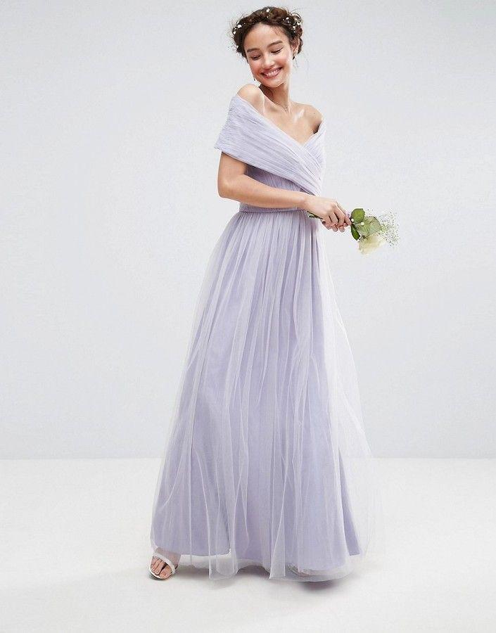 Beautiful Soft Lilac Wedding Dress For A Budget Wedding I Can