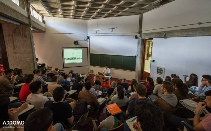 Conferencia sobre el sistema ADDOMO (http://addomo.es) en la Universidade de A Coruña ( https://www.udc.gal) — en Escola Universitaria de Arquitectura Técnica (http://euat.udc.es) Conferencia organizada desde las materias de Estructuras en el  Máster en Tecnoloxías de Edificación Sostible
