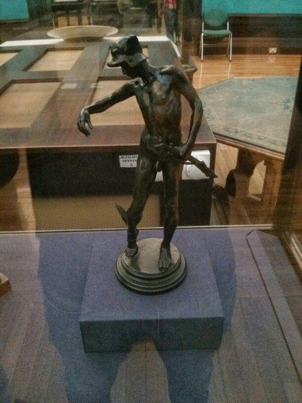 Perseus preparing for his journey