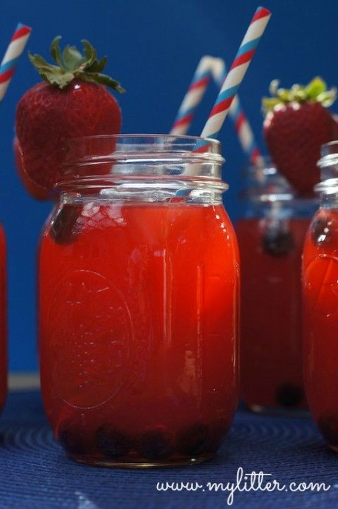 EASY 4th of July Treats and Drinks {I really mean EASY! :) }