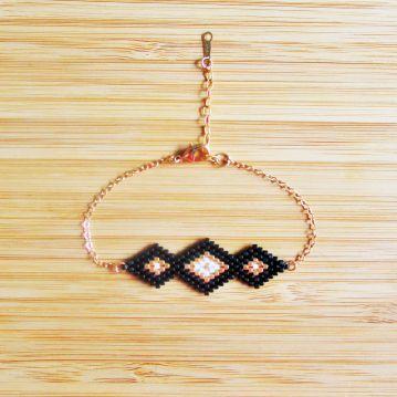 Bracelet Maya Noir via C'cédille. Click on the image to see more!