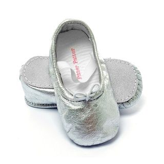 Pitter Patter Shoes Moonshine - $34.95 - The first steps your baby takes are precious; and as they learn to crawl, walk and explore the world, it is important for your baby to wear the right shoes. #sweetcreations #baby #girls #shoes #ballet #leather #suede #PitterPatter