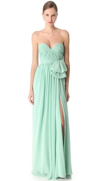 Gorgeous in Mint // Reem Acra