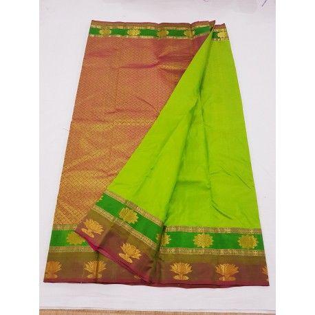 180c91d549 Kanchipuram Pure Silk Sarees - 197 | Kanchipuram Silk Sarees ...