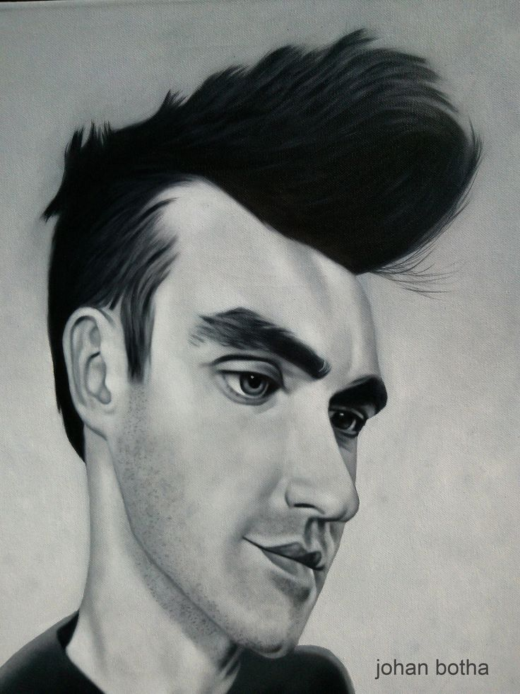 Morrissey, oil on canvas.