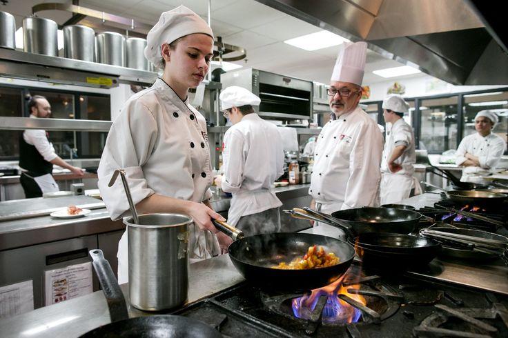 Portfolio restaurant. The Art Institute's student restaurant. $23/3 course meal.