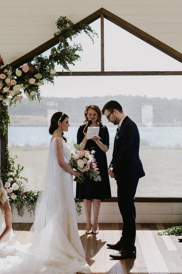 Elegant Lavender Field Wedding - Polka Dot Bride   Photo by http://josephwillis.com.au/