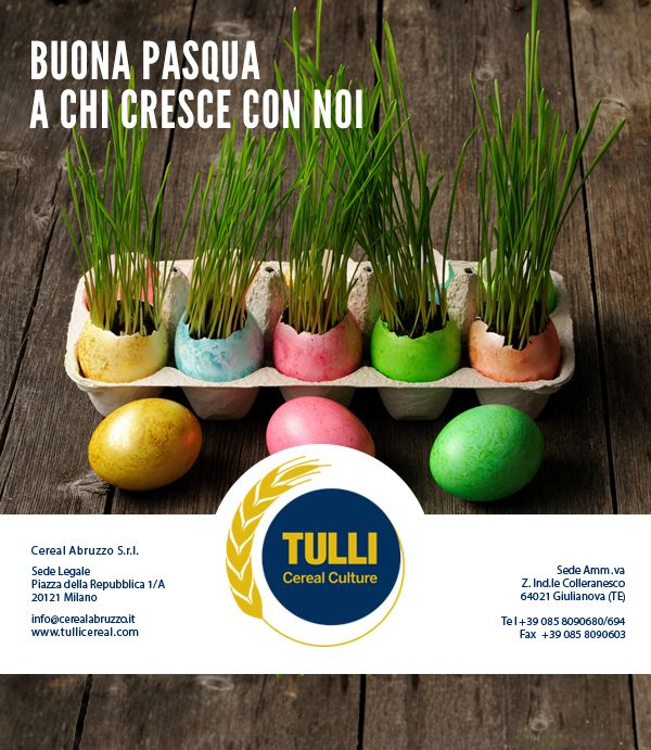 Mail Marketing per gli auguri pasquali da parte di Tulli
