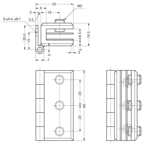 Schematic Glass Door Hinges Glass Door Door Hinges