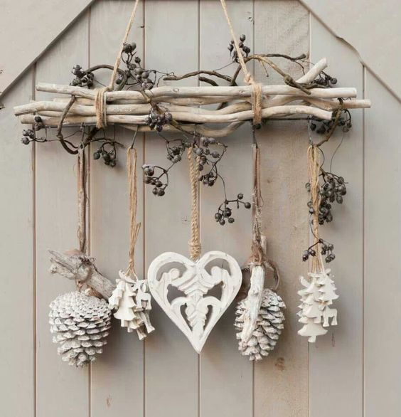 M s de 25 ideas incre bles sobre navidad r stica en - Ideas para decoracion rustica ...