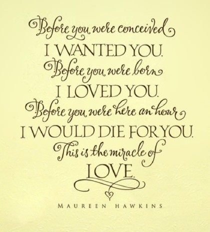 I have loved you for a thousand years. I'll love you for a thousand more...