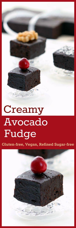 Avocado Fudge Collage