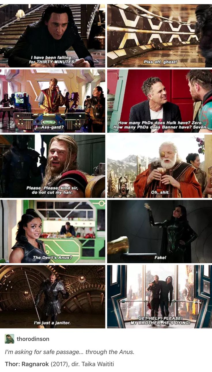 Thor Ragnarok. This movie was absolutely