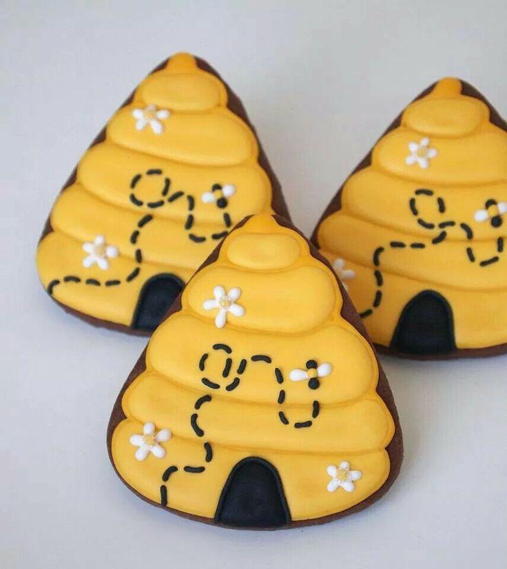 Bee Hive Cookies