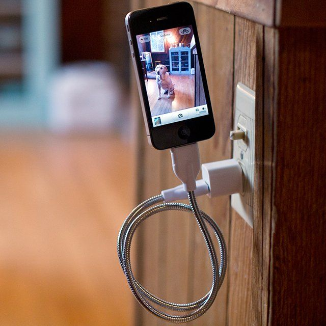 Check out this very cool flexible smart phone charger