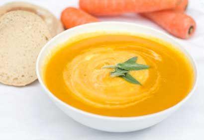 Crème de carottes - simple et délicieuse