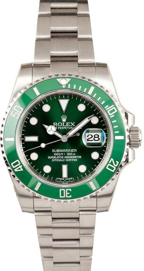 Rolex Submariner Green Anniversary 116610