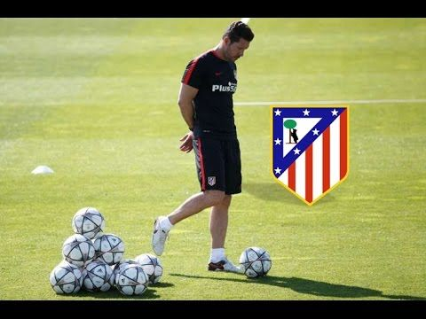 Atletico Madrid Soccer Possession Drill - YouTube