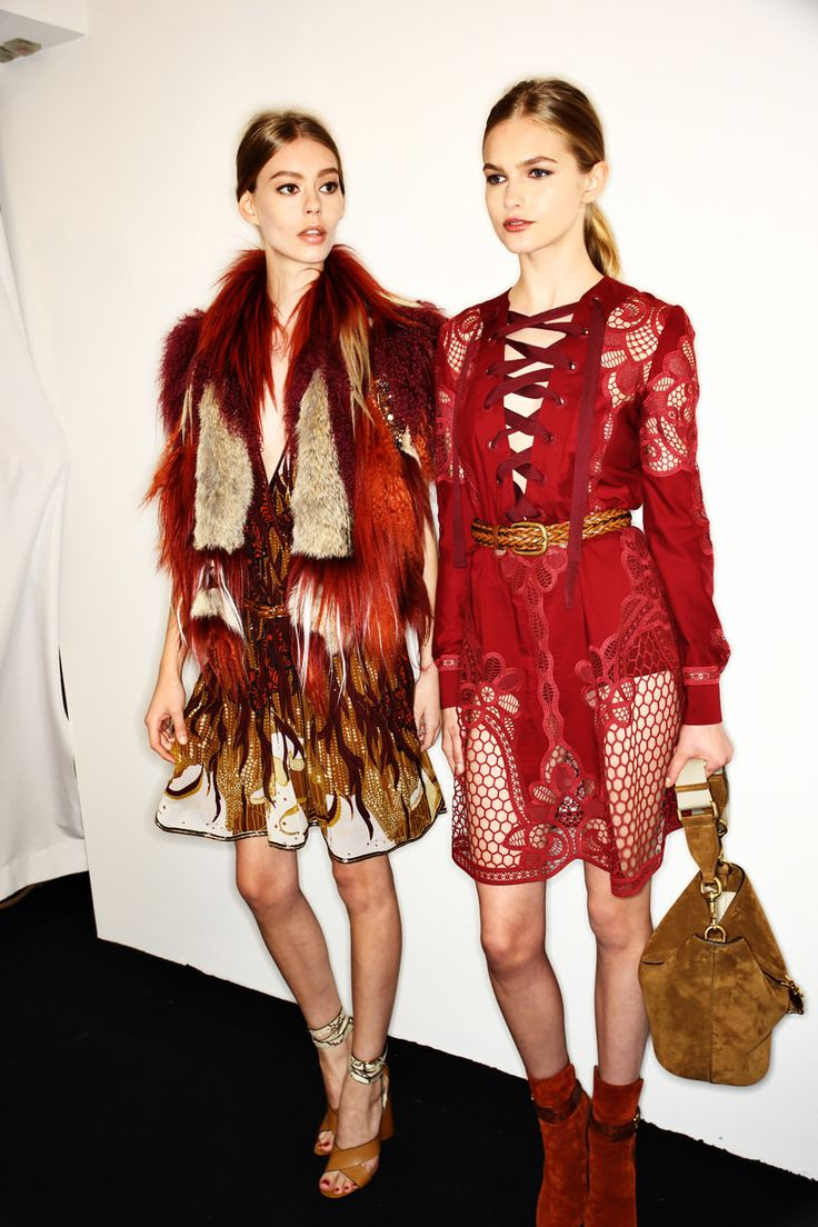 Gucci SS15 Fashion Show Milan Backstage | Sonny Vandevelde--Busy, unflattering…
