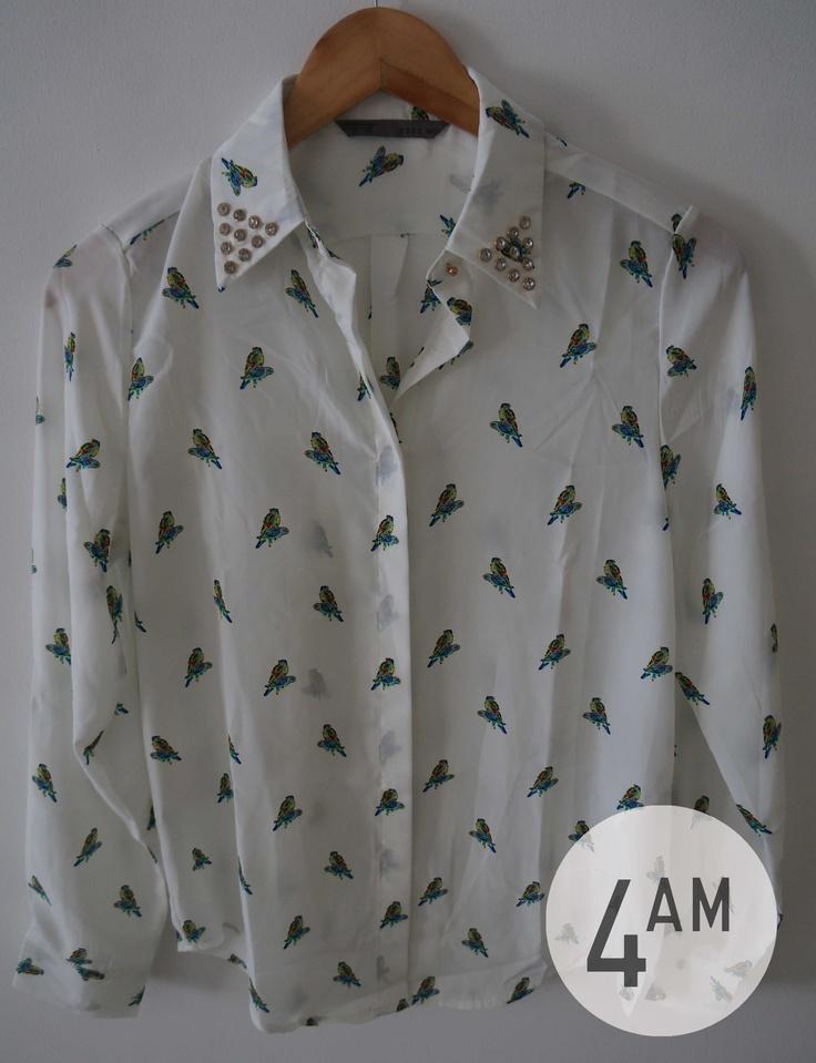 blusa pajaritos 4AM