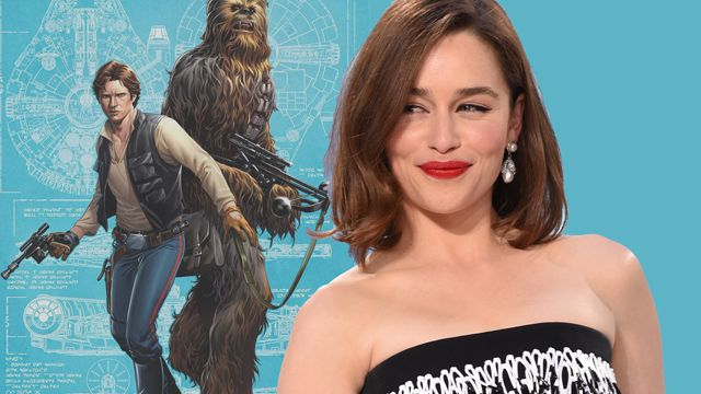 """Emilia Clarke Says Her Star Wars Character Is """"Awesome"""""""